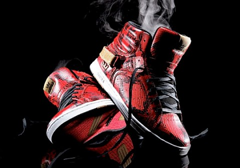 "Boty Supra Suprano High ""Red Snake"""