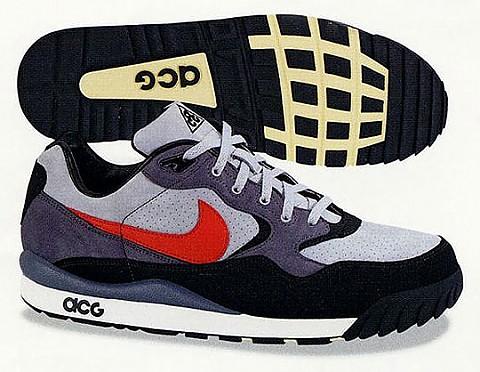 Skoro zimní boty Nike Air Wildwood Premium Grey/Black/Red