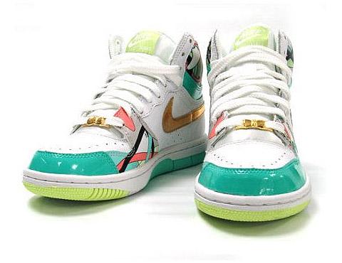 Dámské boty Nike 2009 / Air Max, Court Force, Vandal, Dunk