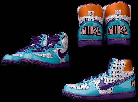 Latexové boty / Nike Terminator Hi Quickstrike