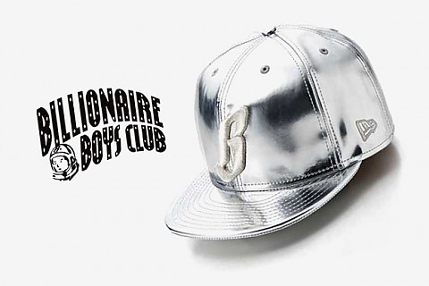 "Billionaire Boys Club / Ice Cream kšiltovka New Era 59FIFTY ""Metallic B"""