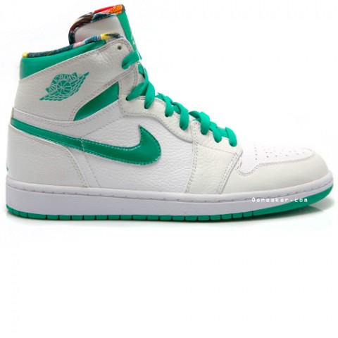 Air Jordan 1 Sea Green Do The Right Thing