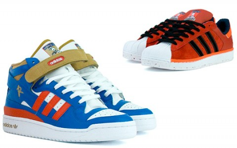 adidas x Def Jam Superstar and Forum Mid / Tenisky adidas