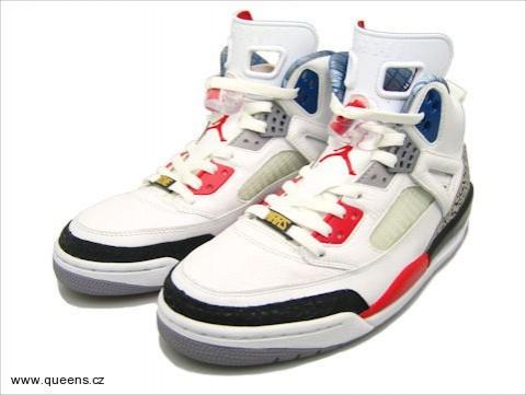 2010. Sneakers Jordan Spizike white   fire red - black nyní i v ČR! ccfb33abec8