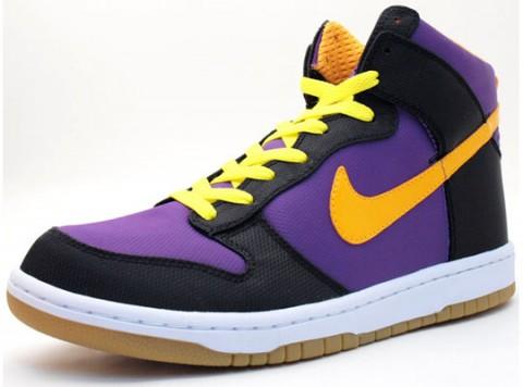 Nike Dunk Hi Supreme Lakers / Kotníkové boty Nike