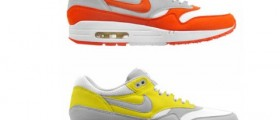 Nike jaro 2010 Air Max 1 ND / Yellow a Orange Colorways