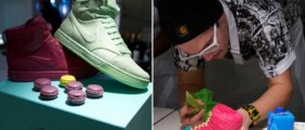 Nike Air Royalty Macarons pack / collete launch party