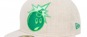 "The Hundreds ""Green Adam"" / New Era Cap & T-Shirt"