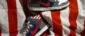 Nike SB Dunk High Premium Born in the USA / Oslavne Den nezávislosti
