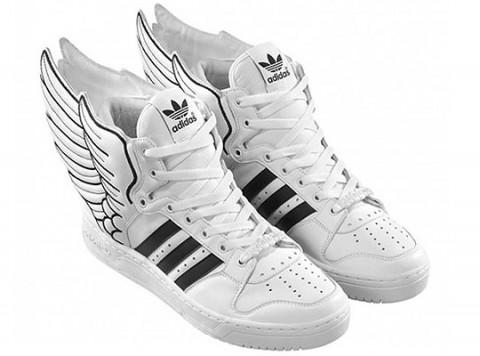 adidas Originals by Originals - Jeremy Scott   Okřídlené tenisky Leather  Wings 2.0 d2ace0a3915