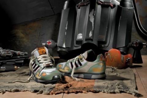 adidas Originals x Star Wars   Běžecké tenisky ZX 800 Boba Fett a502c6f5922