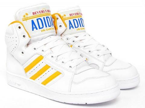 adidas Originals by Originals Jeremy Scott   Označkované JS License Plate fec37e6b557