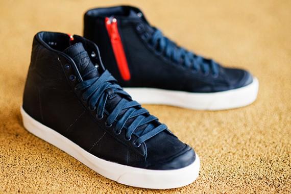 new style ab8fd 82368 Sophnet x Nike Blazer Mid V Ikonikstore.cz si na ně brousí zuby .. Nike  Blazer Mid AB Canvas TZ - Three Colorways Available ...