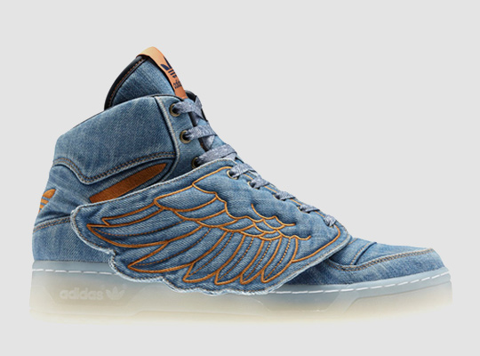 adidas Originals x Jeremy Scott   Propracované JS Wings Denim 58785f823ae