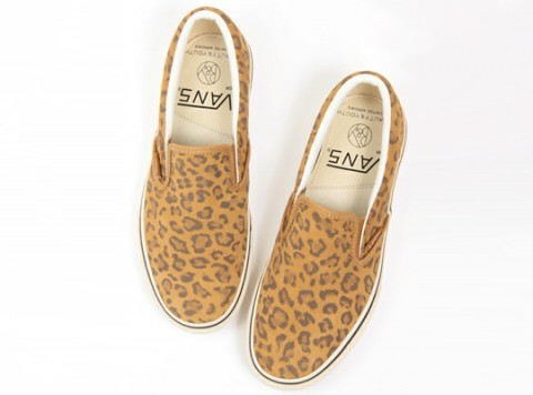Beauty & Youth x Vans / Leopardí kecky Slip-On