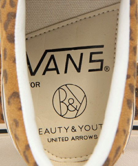 Beauty & Youth x Vans / Leopardí kecky Slip-On (http://www.stylehunter.cz)