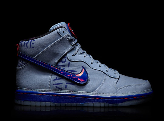 Tenisky Nike Dunk High 2012 NBA All-Star Galactic