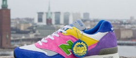Sneakersnstuff x Milkcrate Athletics x New Balance 577 / Handmade in English
