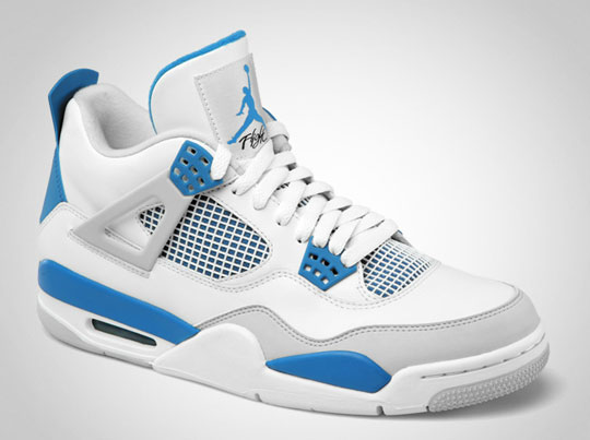 Air Jordan 4 Retro Military Blue / Legenda míří k nám (http://www.stylehunter.cz)