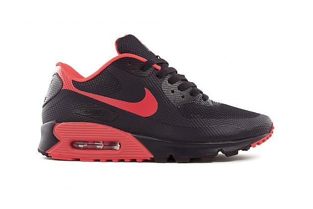 Nike Air Max 90 Hyperfuse Black Red  Nike Air Max 90...