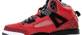 Air Jordan Spizike Gym Red / Červenočerný elephant print