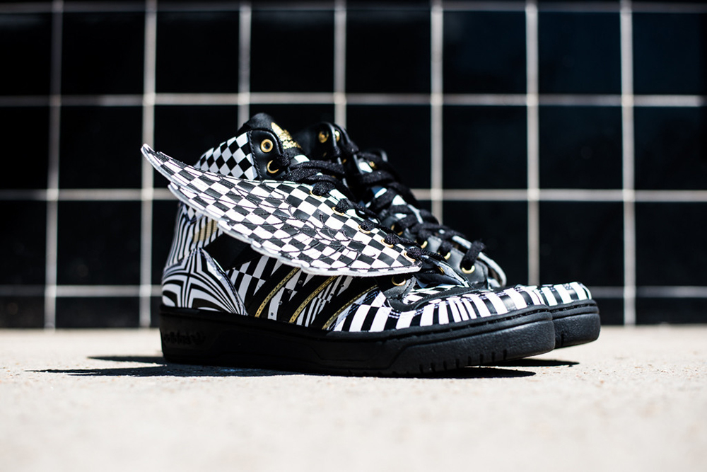 adidas Originals by Jeremy Scott Wings / Nová colorway Opart