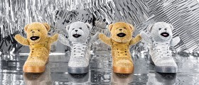 adidas Originals by Jeremy Scott / Zvířecí kecky Holiday Bears