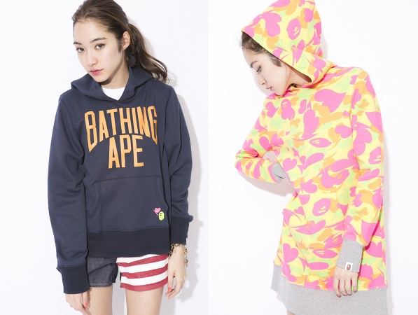 BAPE Women's Spring/Summer 2014 - Lookbook