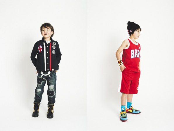 BAPE Kids Spring/Summer 2014 - Lookbook