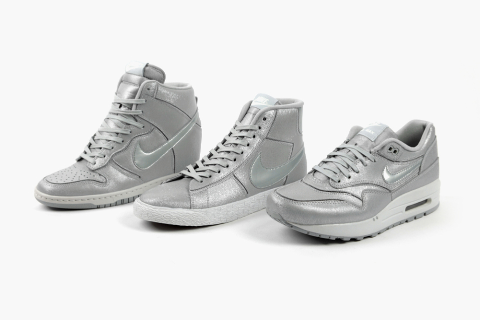 Tenisky Nike Cut-Out Pack - Wolf Grey