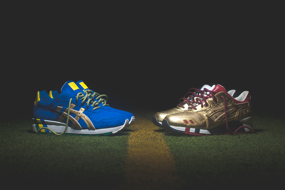 Tenisky Ronnie Fieg x ASICS / KITH Football Equipment pack