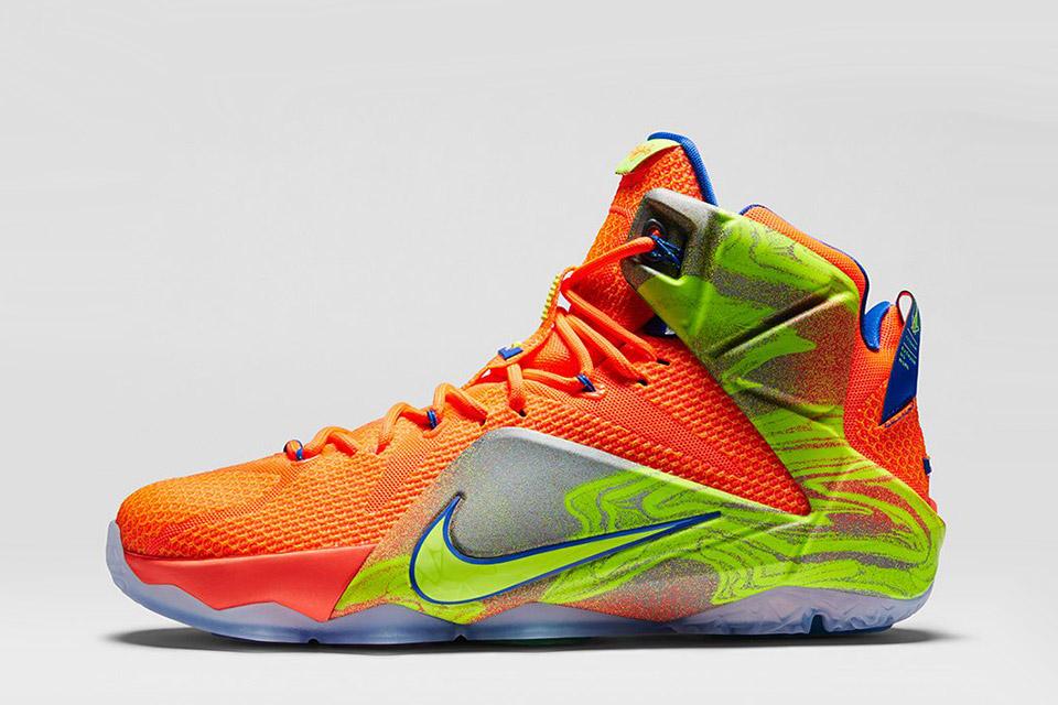 f86dd296ded56 Basketbalové boty Nike LeBron 12 na Podzim/Zimu 2014 — StyleHunter
