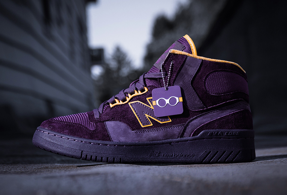 Packer Shoes x New Balance 740 / Colorway Purple Reign