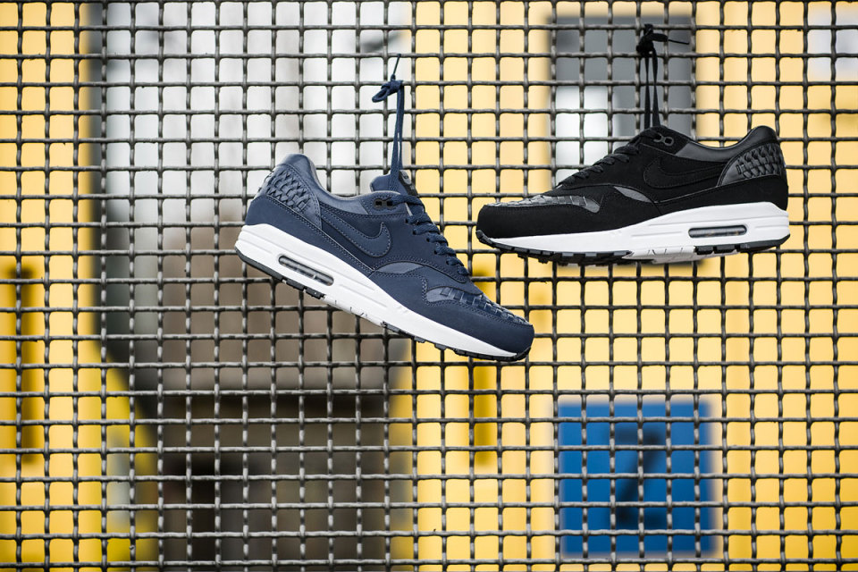 Nike Air Max 1 Woven / Colorways Black & Navy