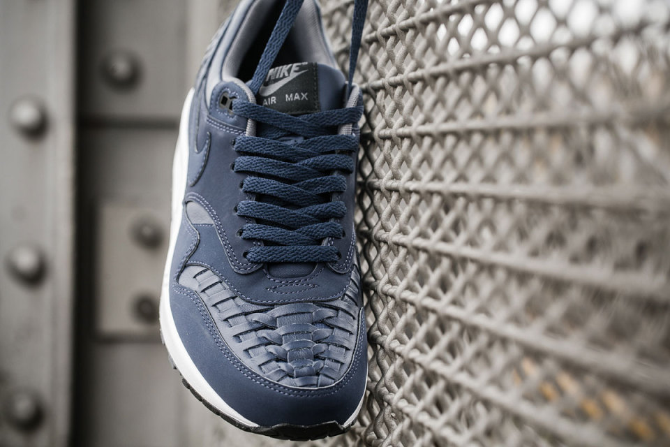 Nike Air Max 1 Woven / Colorways Black & Navy (http://www.stylehunter.cz)
