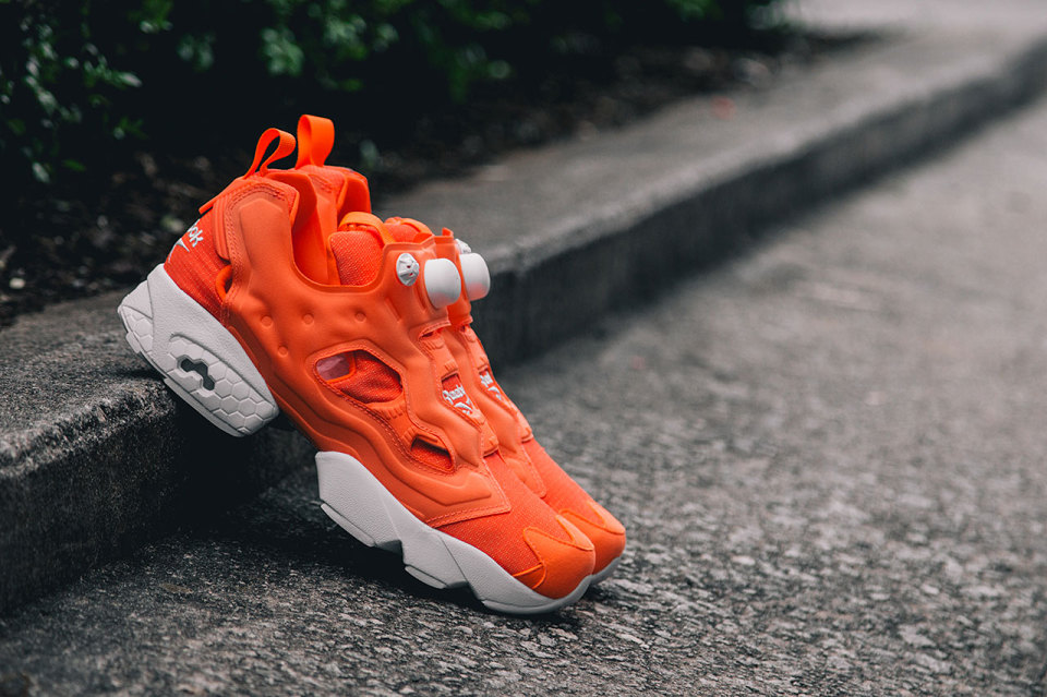 Tenisky Reebok Instapump Fury Tech - Solar Orange